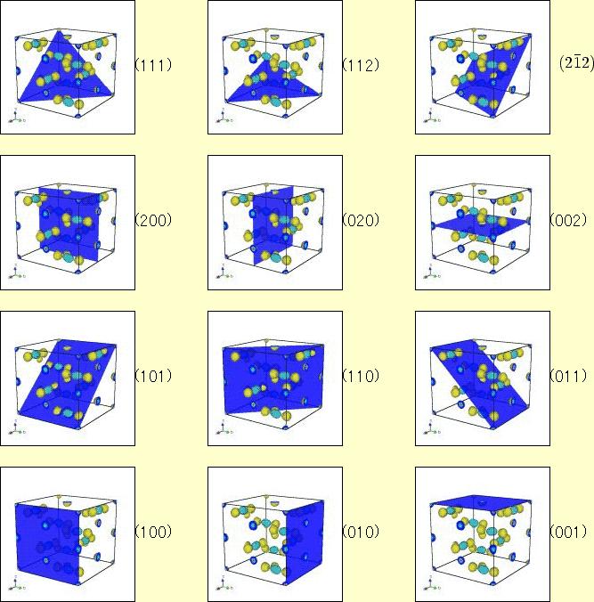 仮に,上の単位格子が立方晶だ ... : 表 単位 : すべての講義